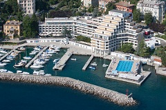 Hotel is situated at the famous Opatija promenade Lungomare.